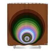 Circle II Shower Curtain