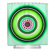 Circle Motif 229 Shower Curtain