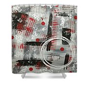 Circle Of Design  Shower Curtain