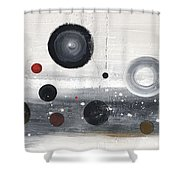 Circles And Cycles Shower Curtain