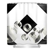 Outer Limits Shower Curtain