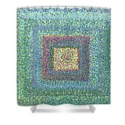 Circles For Peace Shower Curtain