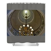 Circular Stairway Sri Lanka Shower Curtain