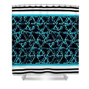 Circularpadronframed Shower Curtain