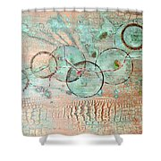 Threads Of Possibility Shower Curtain