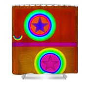 Circus Balls Shower Curtain