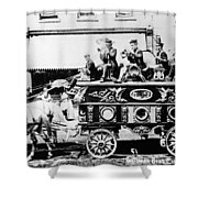 Circus Bandwagon, 1900 Shower Curtain