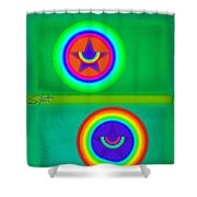 Circus Costume Shower Curtain