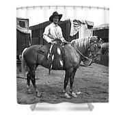 Circus Cowboy On Horse Shower Curtain