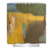 Circus Family Shower Curtain