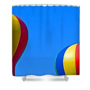 Circus In The Sky - One Shower Curtain