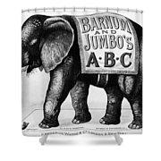 Circus: Jumbo, C1882 Shower Curtain