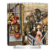Circus Poster, C1891 Shower Curtain