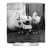 Circus: Rider, C1904 Shower Curtain