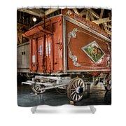 Circus Wagon Shower Curtain