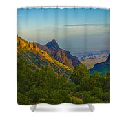 Chiscos Mountain Park Shower Curtain