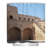 Citadel In Akko Shower Curtain