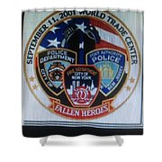 Citadel Three Shower Curtain