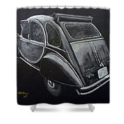 Citroen 2cv Charleston Shower Curtain