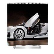 Citroen Supercar Concept Shower Curtain