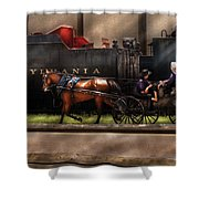 City - Lancaster Pa - You Got To Love Lancaster Shower Curtain by Mike Savad