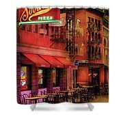 City - Vegas - The Pizza Joint Shower Curtain