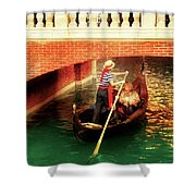City - Vegas - Venetian - That's Amore Shower Curtain