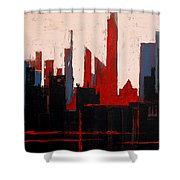 City Abstract No. 1 Shower Curtain
