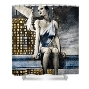 City Angel -2 Shower Curtain