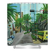 City Beautiful - Downtown Orlando Fl Shower Curtain