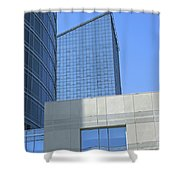 City Blues Shower Curtain