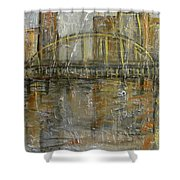 City Bridge Shower Curtain