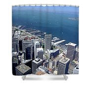 City By The Bay Shower Curtain