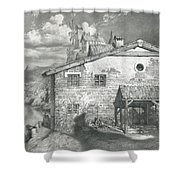 City By The Sea Shower Curtain