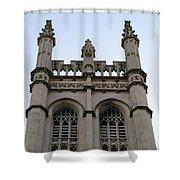 City Church Tower Shower Curtain