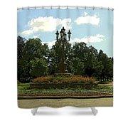 City Circle Shower Curtain