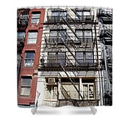 City Complex Shower Curtain