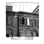 City Decay 1 Shower Curtain