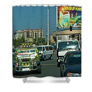 City Driving Shower Curtain