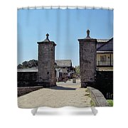 City Gate Of St Augustine Shower Curtain