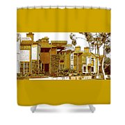 City Gold Shower Curtain