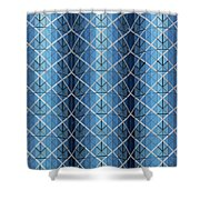 City Grids 25 Shower Curtain