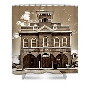City Hall And Fire Department S Shower Curtain