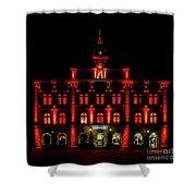 City Hall In Uppsala Shower Curtain