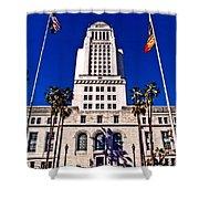 City Hall La Shower Curtain