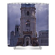 City Hall Philly Shower Curtain