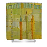 City Icons Shower Curtain