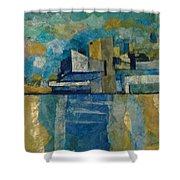 City In Harmony Shower Curtain