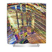 City In Motion 29 Shower Curtain
