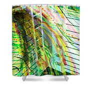 City In Motion 56 Shower Curtain